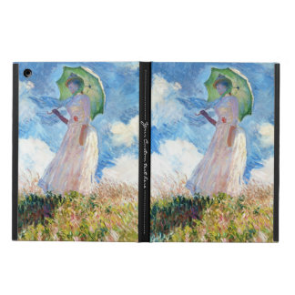Woman with a Parasol  Claude Monet lady painting Cover For iPad Air