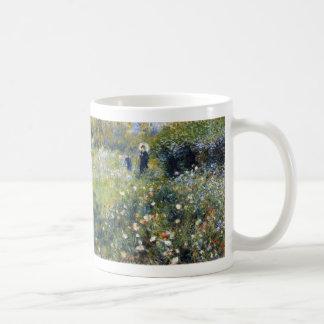 Woman with a Parasol in a Garden Renoir Mug