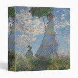 Woman with a Parasol - Madame Monet and Her Son Binder