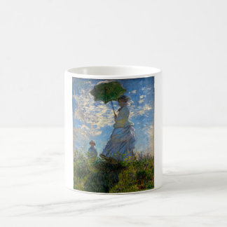 Woman with a Parasol - Madame Monet and Her Son Coffee Mug