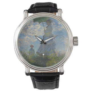 Woman with a Parasol - Madame Monet and Her Son Wristwatch