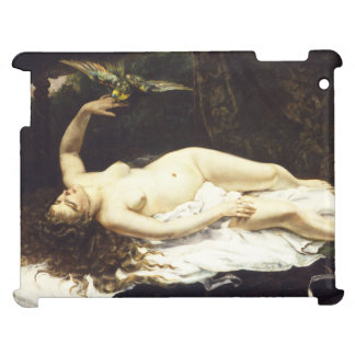 Woman with a Parrot by Gustave Courbet Cover For The iPad 2 3 4