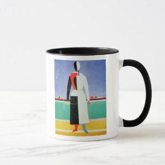 Woman with a Rake, c.1928-32 Mug