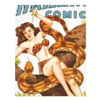 Woman with a Snake Letterhead