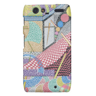 woman with a sword droid RAZR covers