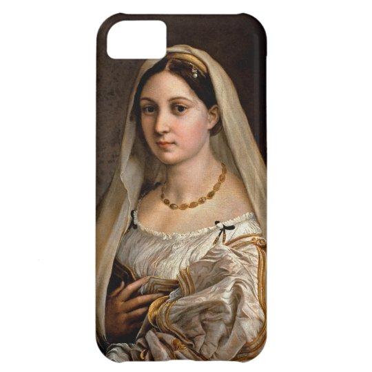 Woman with a veil La Donna Velata Raphael Santi Cover For iPhone 5C