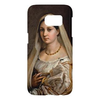Woman with a veil La Donna Velata Raphael Santi Samsung Galaxy S7 Case