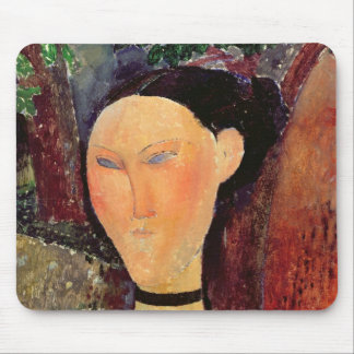 Woman with a Velvet Neckband, c.1915 Mouse Pad