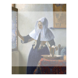 Woman with a Water Jug by Johannes Vermeer Flyer