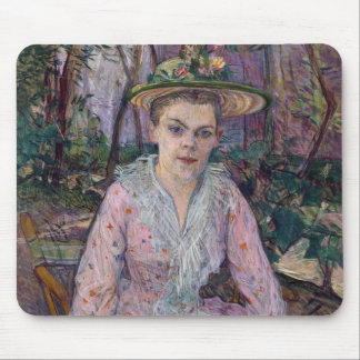 Woman with an Umbrella, 1889 Mouse Pad