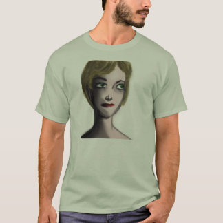 Woman with blonde hair. T-Shirt
