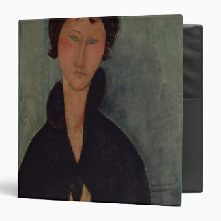 Woman with Blue Eyes, c.1918 Vinyl Binder