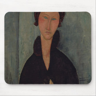 Woman with Blue Eyes, c.1918 Mousepads