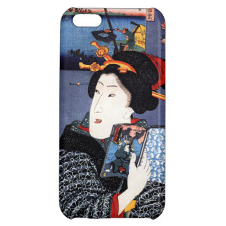 Woman with Book by Utagawa Kuniyoshi 歌川国芳 Cover For iPhone 5C