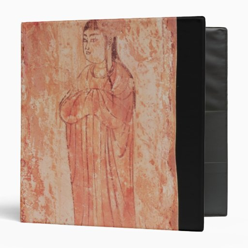 Woman with chinese features in Nestorian 3 Ring Binder