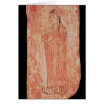 Woman with chinese features in Nestorian Card