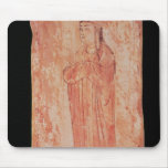 Woman with chinese features in Nestorian Mouse Pad