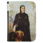 Woman With Dogs, 1858 (oil on canvas) Kindle Covers