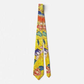 Woman with Fan 1907 a Tie