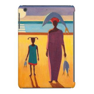 Woman with Fish iPad Mini Retina Covers