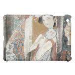 Woman with Floral Hairpin iPad Mini Cover