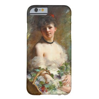 Woman with Flower Basket 1850 Barely There iPhone 6 Case