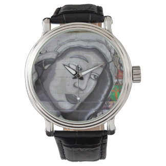 Woman With Gray Hood Wristwatch