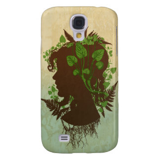 Woman with Leaves and VinesThese items are adorned Samsung S4 Case