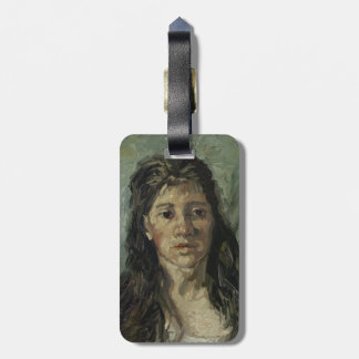 Woman with Loose Hair by Vincent Van Gogh Bag Tag