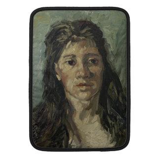 Woman with Loose Hair by Vincent Van Gogh MacBook Air Sleeve