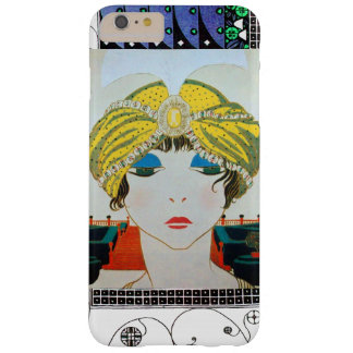 WOMAN WITH ORIENTAL YELLOW TURBAN / Beauty Fashion Barely There iPhone 6 Plus Case