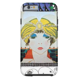 WOMAN WITH ORIENTAL YELLOW TURBAN / Beauty Fashion Tough iPhone 6 Case