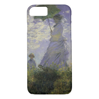 Woman with Parasol by Claude Monet, Vintage Art iPhone 8/7 Case