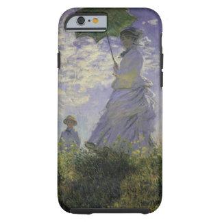 Woman with Parasol by Claude Monet, Vintage Art Tough iPhone 6 Case
