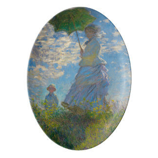 Woman with Parasol by Monet Serving Platter