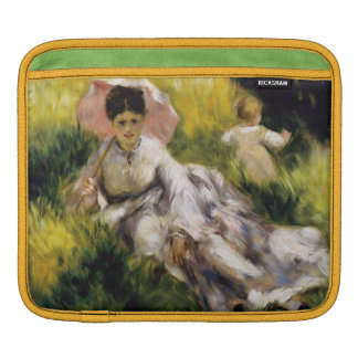 Woman with Parasol by Renoir Sleeve For iPads