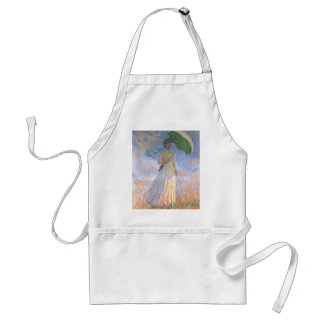 Woman with Parasol.jpg Adult Apron