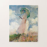 "Woman with Parasol Promenade Monet Jigsaw Puzzle<br><div class=""desc"">Woman with Parasol Promenade Monet</div>"
