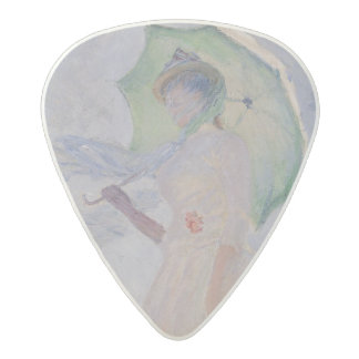 Woman with Parasol turned to the Left, 1886 Acetal Guitar Pick