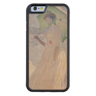 Woman with Parasol turned to the Left, 1886 Carved® Maple iPhone 6 Bumper