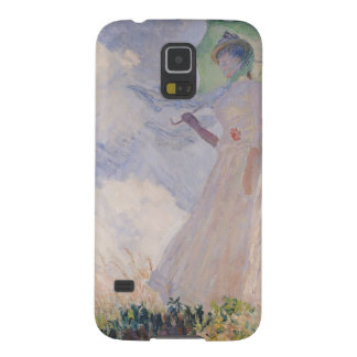 Woman with Parasol turned to the Left, 1886 Cases For Galaxy S5