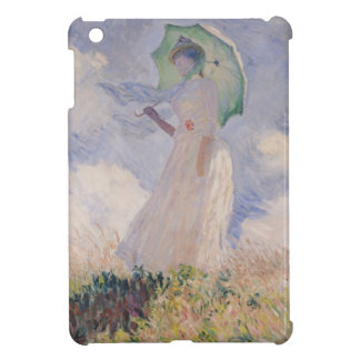 Woman with Parasol turned to the Left, 1886 Cover For The iPad Mini