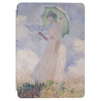 Woman with Parasol turned to the Left, 1886 iPad Air Cover