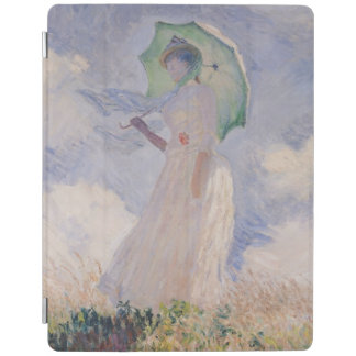 Woman with Parasol turned to the Left, 1886 iPad Cover