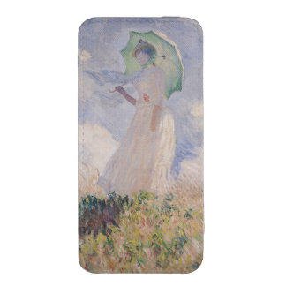 Woman with Parasol turned to the Left, 1886 iPhone SE/5/5s/5c Pouch