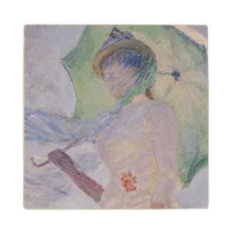 Woman with Parasol turned to the Left, 1886 Wooden Coaster