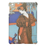 Woman with Peacocks – Louis Rhead iPad Mini Covers