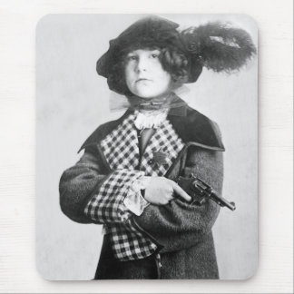 Woman with Pistol, 1910 Mouse Pad