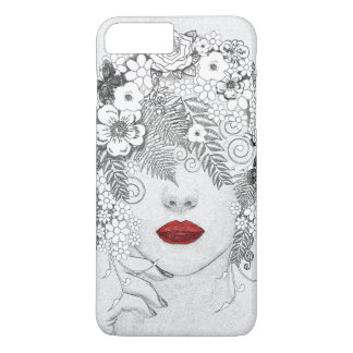 Woman with Red Lips iPhone 8 Plus/7 Plus Case