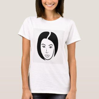 Woman with short hair T-Shirt